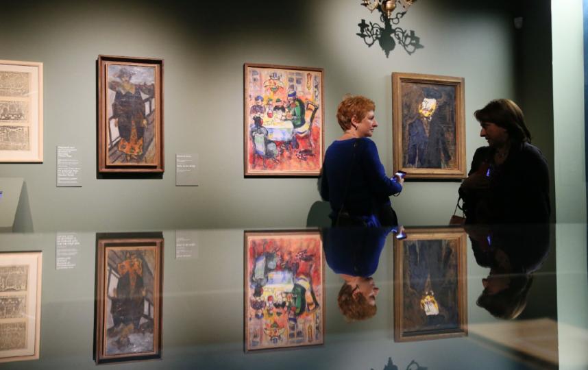 """Выставка """"Шагал: между небом и землёй"""". Фото Василий Кузьмичёнок"""