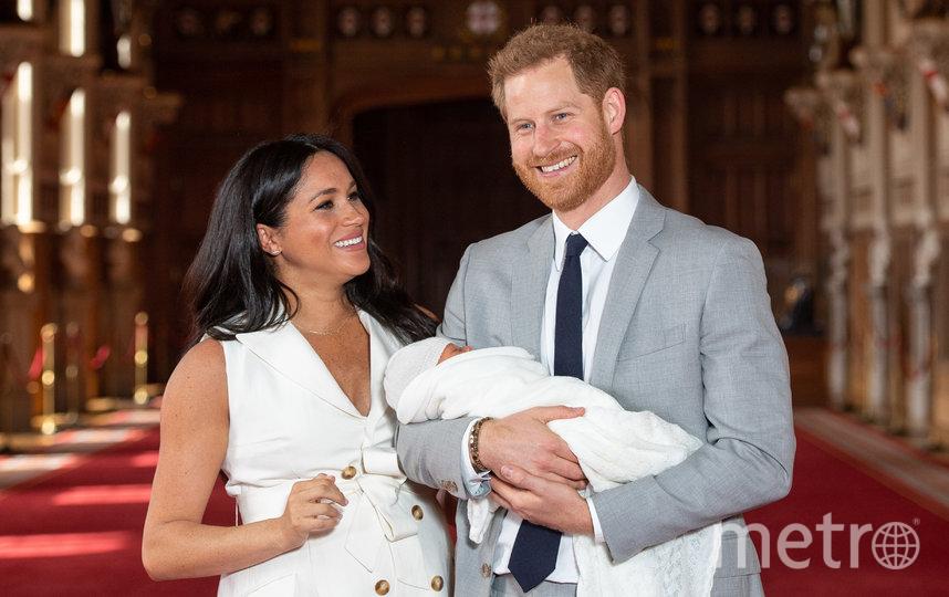 Меган Маркл и принц Гарри с сыном Арчи. Фото Getty