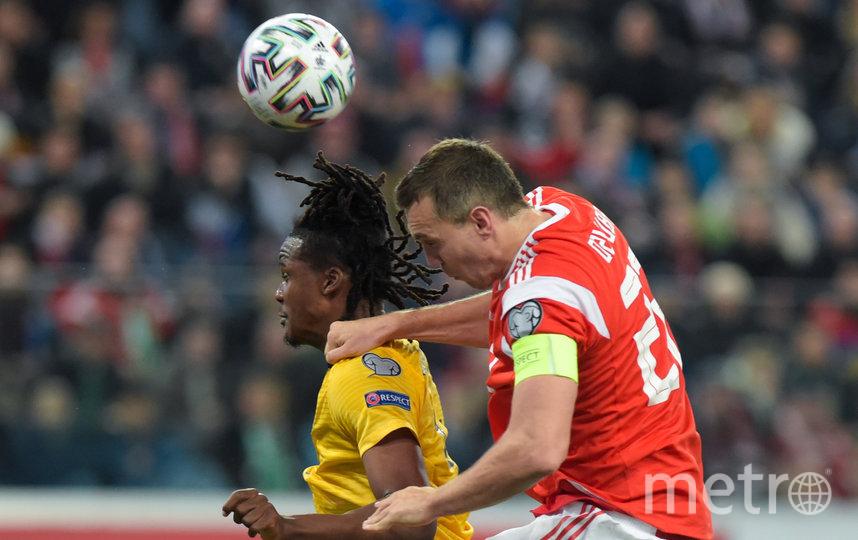 Сборная России по футболу крупно уступила бельгийцам в Петербурге. Фото AFP