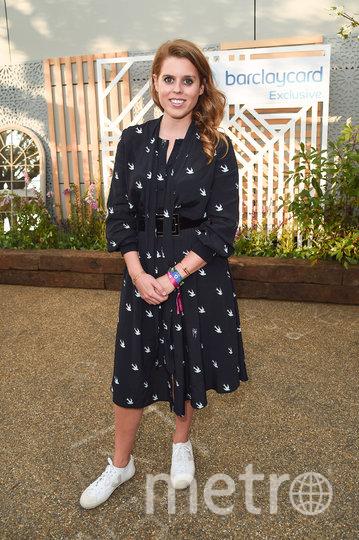 Принцесса Беатрис в июле 2019го. Фото Getty