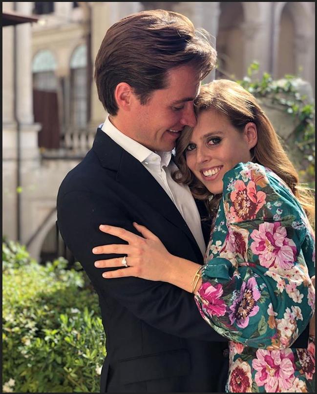 Принцесса Беатрис обручилась с итальянским магнатом Эдоардо Мапелли Моцци. Фото instagram.com/theroyalfamily