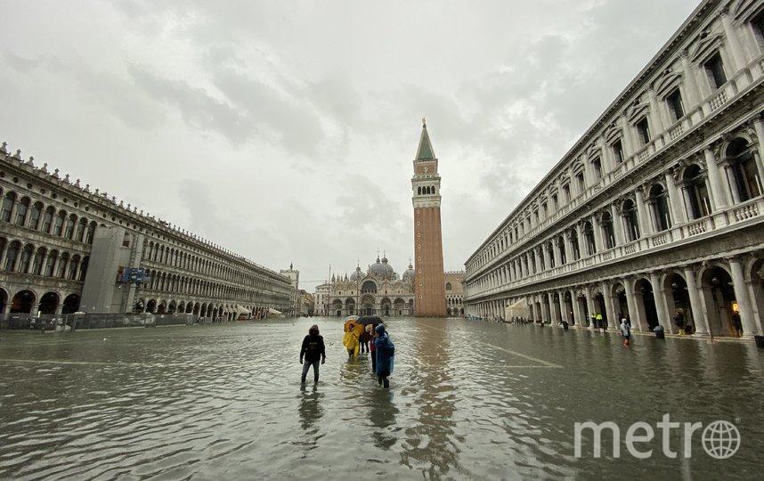 85% площади города, в том числе и собор Святого Марка, оказались во власти стихии. Фото Getty