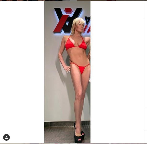 "Волочкова похудела и обеспокоила своих поклонников. Фото https://www.instagram.com/volochkova_art/, ""Metro"""