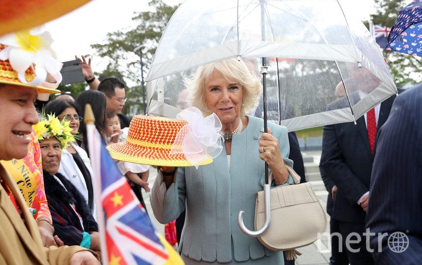 Принц Чарльз прибыл в Новую Зеландию. Его сопровождает жена. Фото Getty