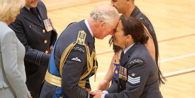 Принц Чарльз прибыл в Новую Зеландию.