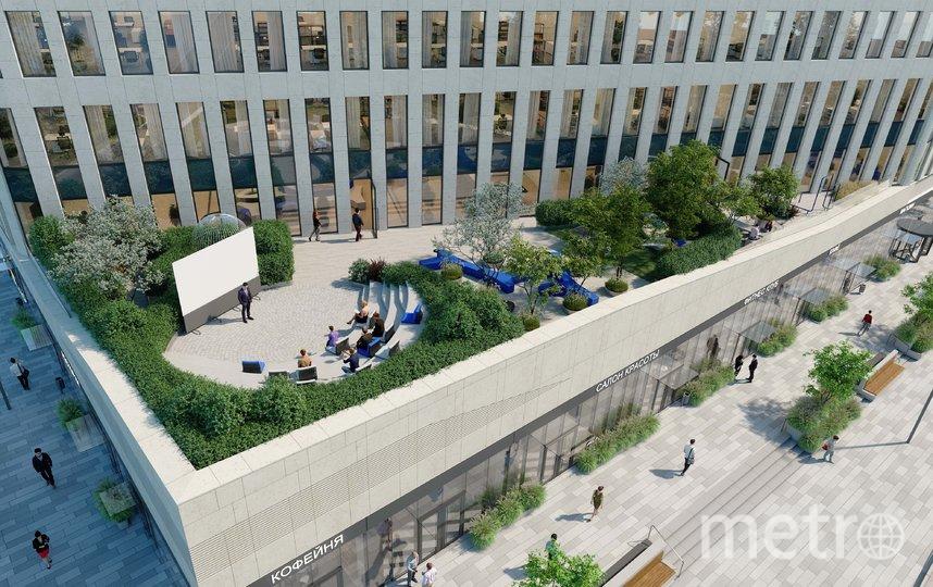 """Проект. Фото архитектурного бюро WALL, предоставлено пресс-службой Москомархитектуры, """"Metro"""""""