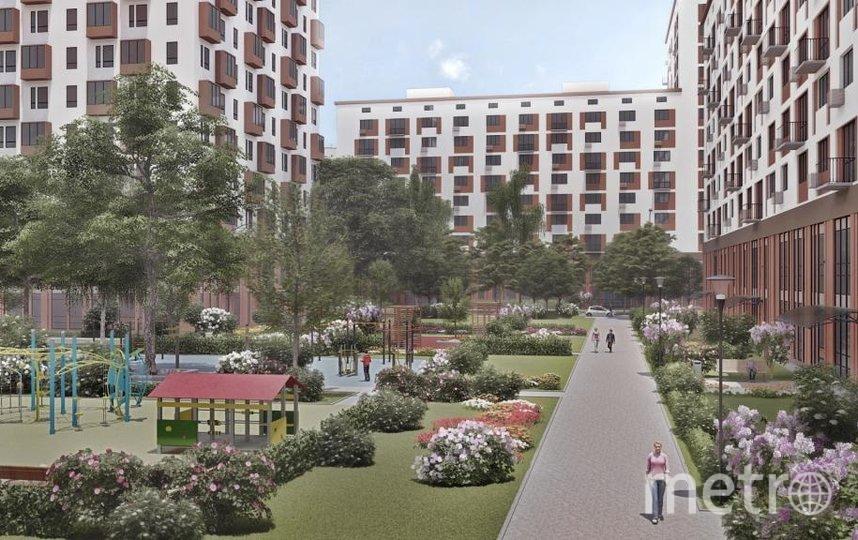 Микрорайон 128 б-в района Выхино-Жулебино. Проект. Фото предоставлено пресс-службой Москомархитектуры