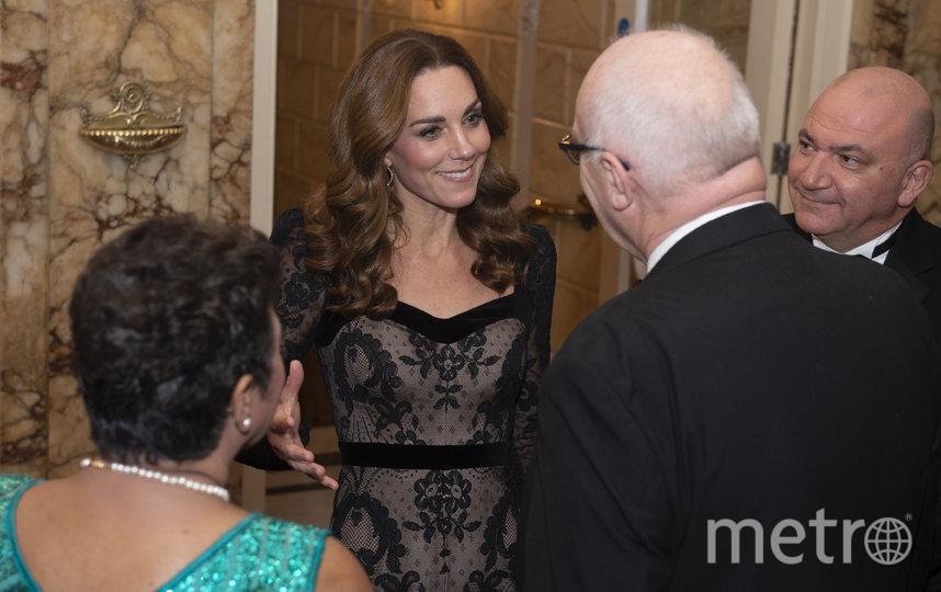 Кейт Миддлтон и принц Уильям посетили благотворительное шоу Royal Variety Performance в Лондоне. Фото Getty