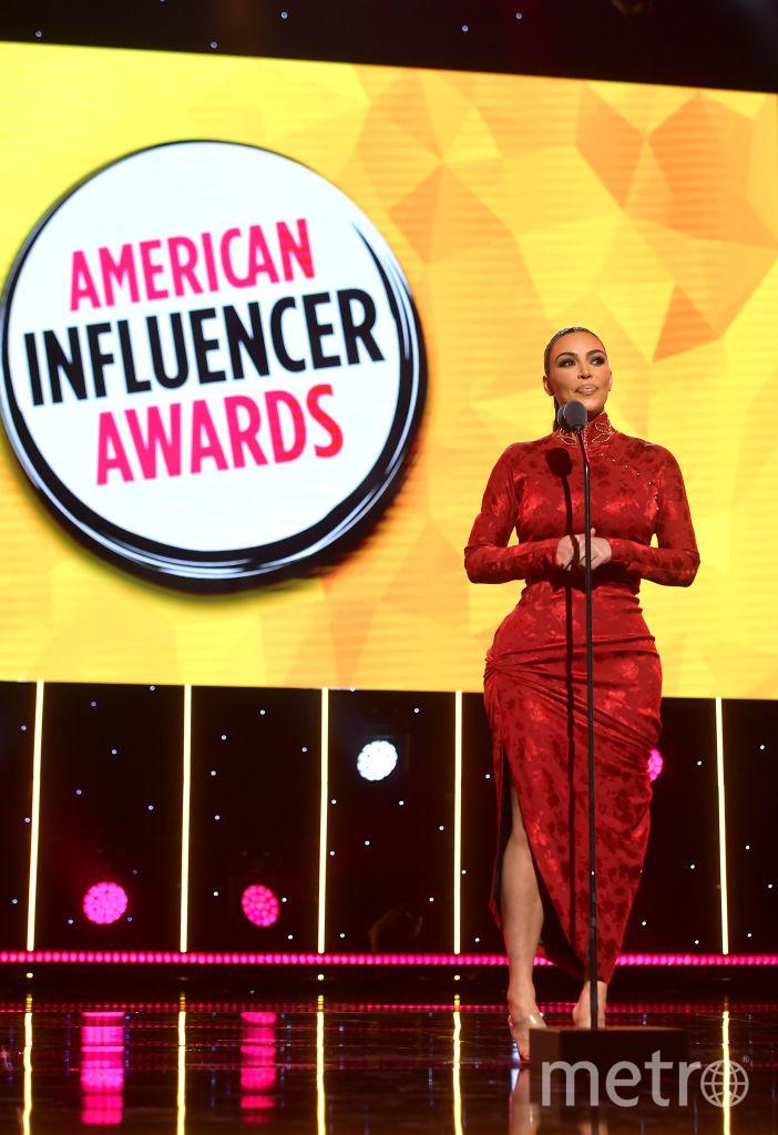 American Influencer Awards. Ким Кардашьян. Фото Getty