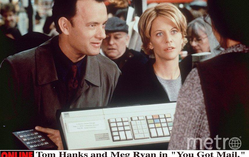 Мег Райан. Сцена из фильма с Томом Хэнксом. Фото архивные фото, Getty