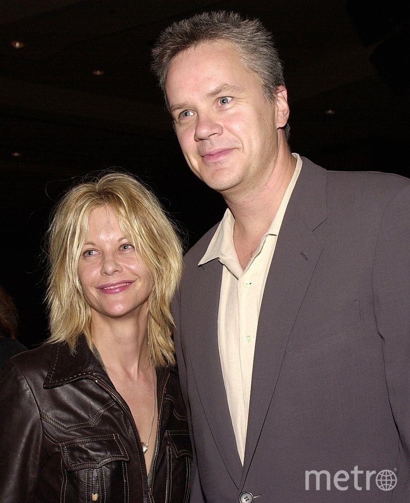 Мег Райан с актером Тимом Роббинсом. Фото архивные фото, Getty