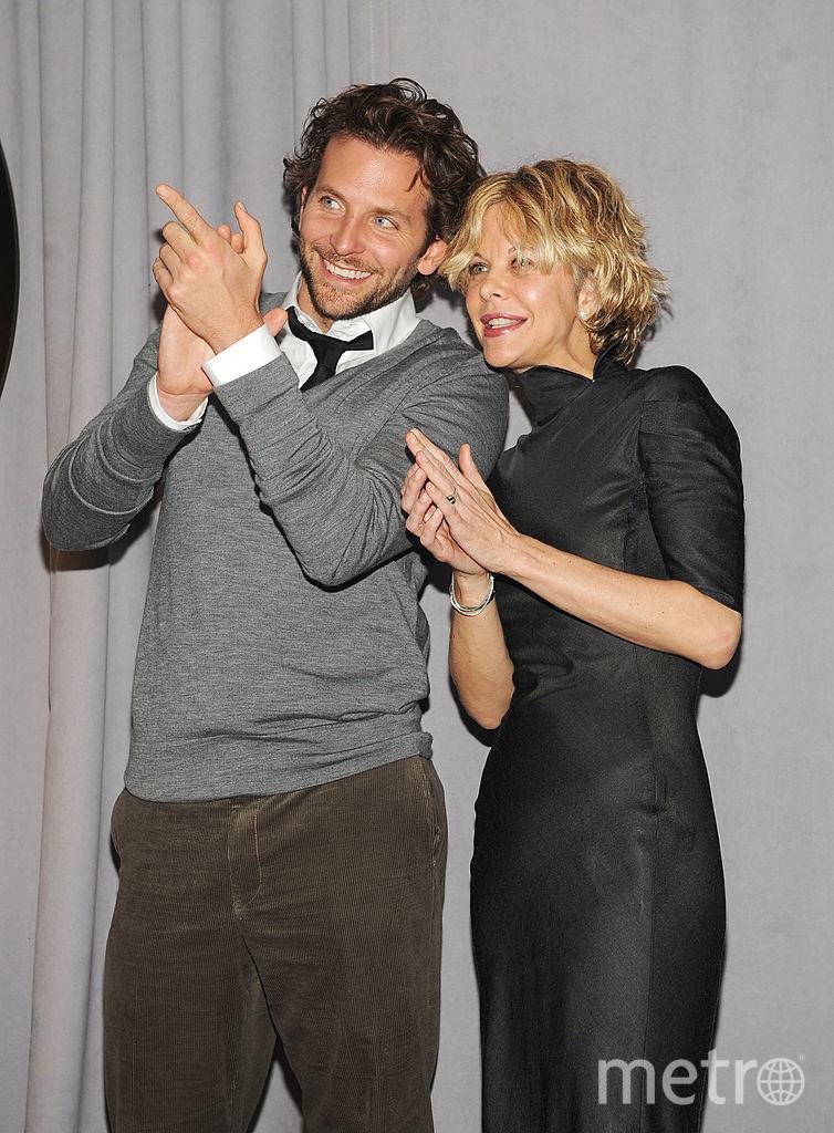Мег Райан с Бредли Купером. Фото архивные фото, Getty