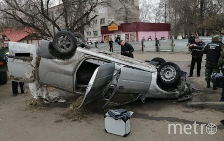 В Пензе произошёл обвал грунта и асфальтового покрытия. Фото https://penza.sledcom.ru/news/item/1411111/