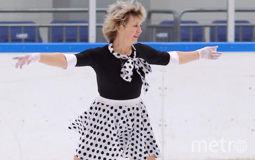 """Я тебе не бабушка, я – фигуристка"". Фото Татьяна Пантюкова (60 лет), ""Metro"""