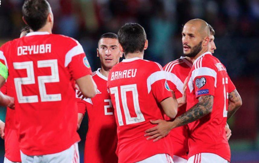 Сборная России в двух матчах забила Сан-Марино 14 голов. Фото Instagram.com/teamrussia