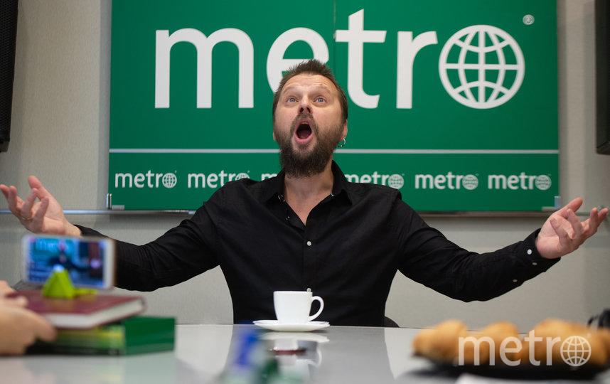 """Илья Чёрт в гостях у Metro. Фото Святослав Акимов, """"Metro"""""""