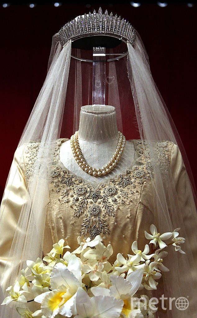Свадебное платье Елизаветы хранится в музее. Фото Getty