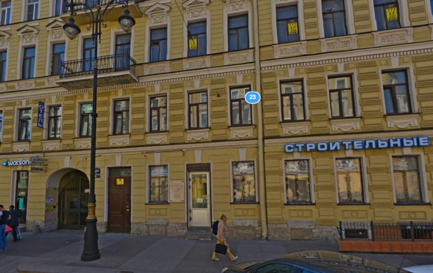 Дом на Кирочной улице, 23. Фото Яндекс.Панорамы