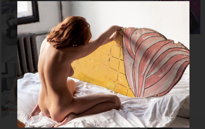 Из-за откровенных снимков для журнала Playboy Анна лишилась работы. Фото скриншот playboyrussia.com