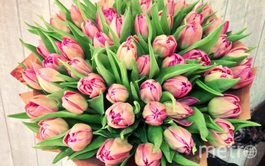 Голландские тюльпаны. Фото предоставлено Флорист.ру