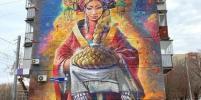 В Челябинске уличные художники отмыли свою картину