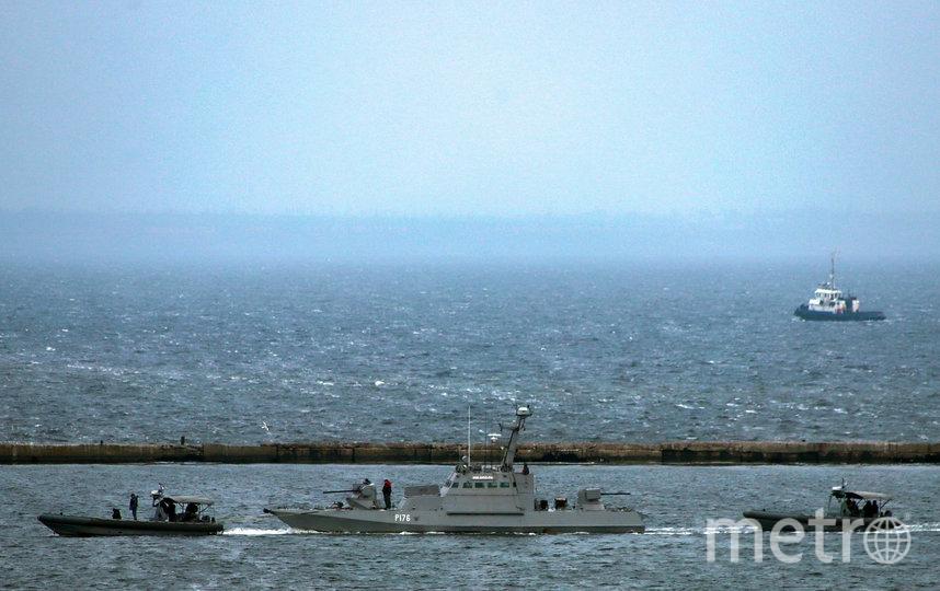 Украина обвинила Россию в пропаже розеток и унитазов с возвращенных кораблей. Фото AFP