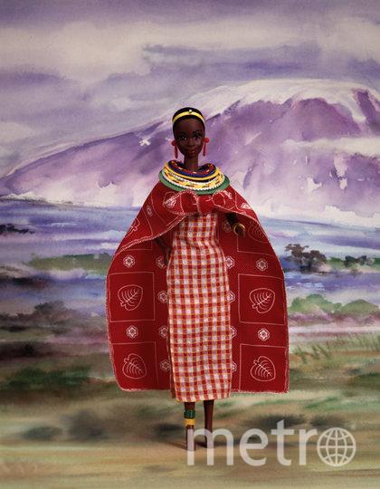 """Барби – Кения, 1994 год. Фото предоставлено организаторами выставки, """"Metro"""""""