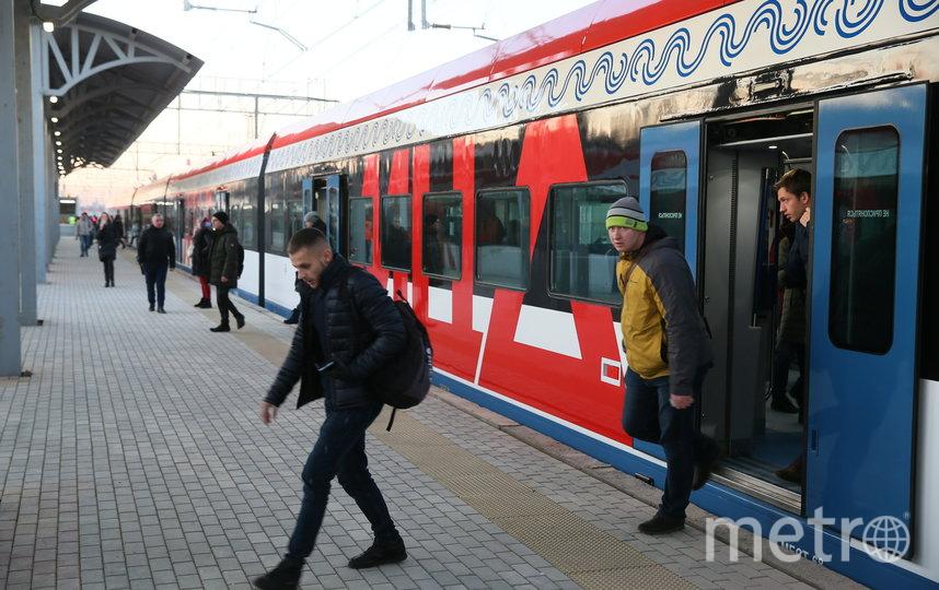 Движение по первым двум МЦД запустили утром в четверг. Фото Василий Кузьмичёнок
