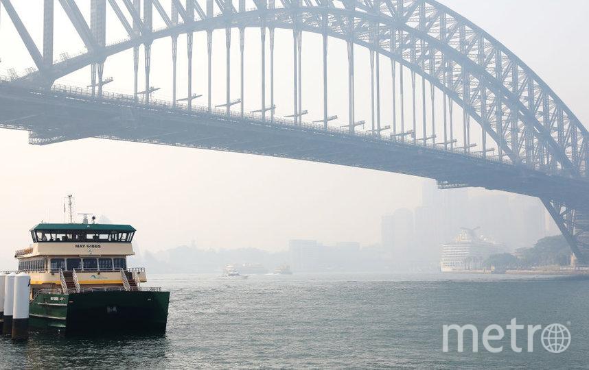 Пожары бушуют на юго-востоке Австралии. Дым уже добрался до Сиднея. Фото Getty