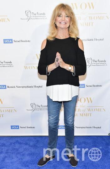 Голди Хоун сейчас. Фото Getty
