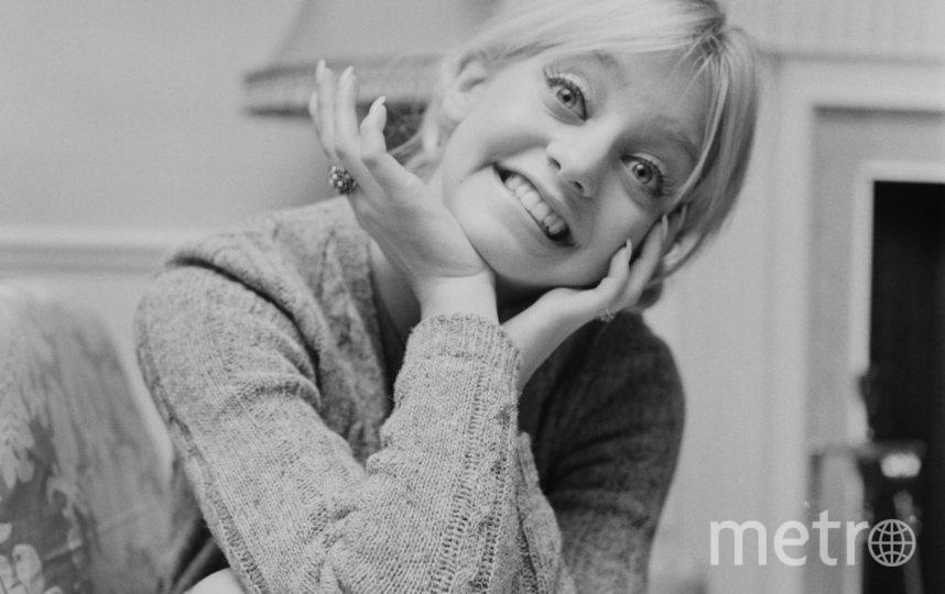 Голди Хоун в молодости. Фото Getty