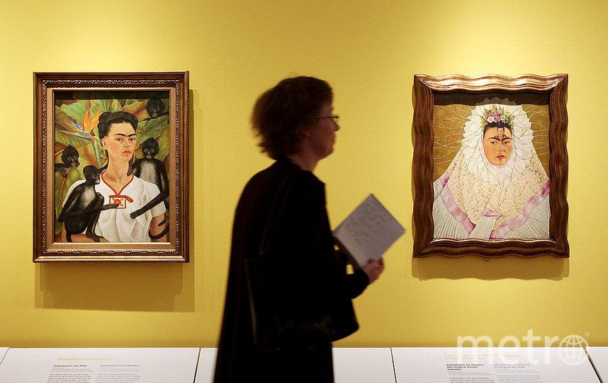Картины Фриды Кало. Фото Getty