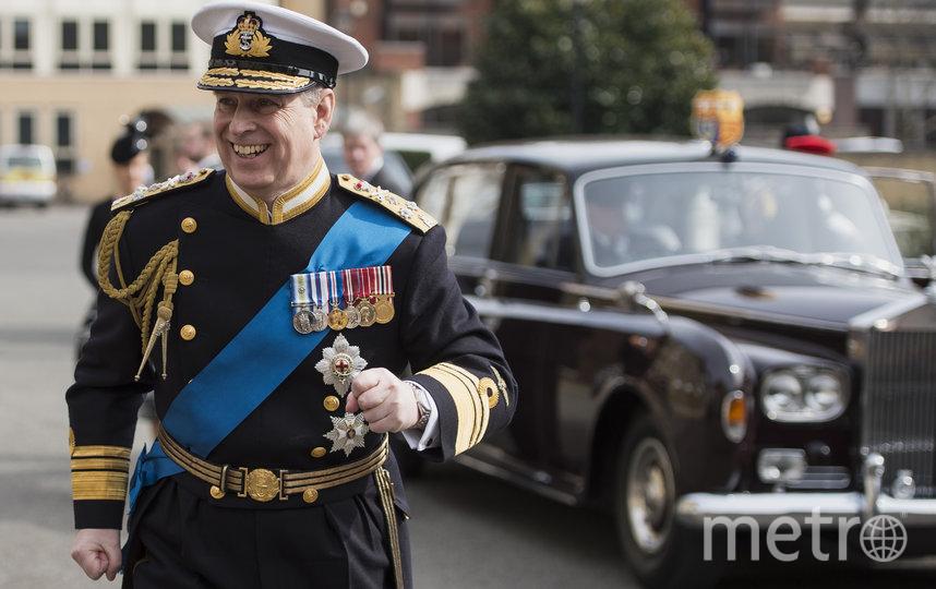 Принц Эндрю. Фото Getty