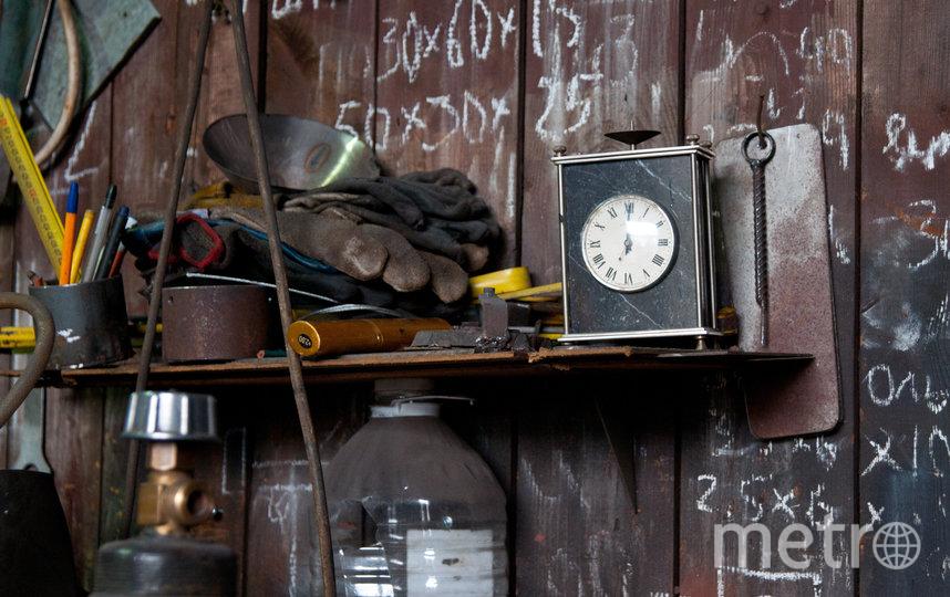 """В мастерской в поселке Мга. Фото Анна Лутченкова, """"Metro"""""""