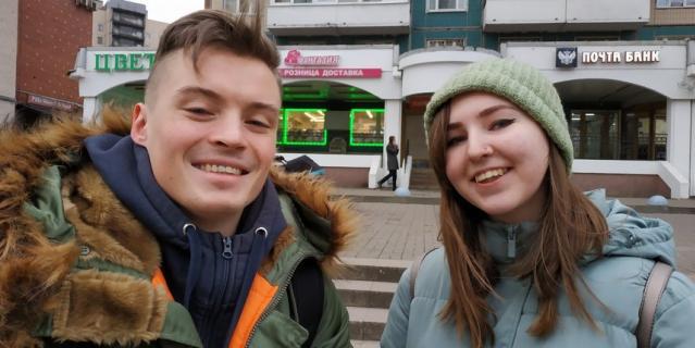 Никита (24 года) и Евгения (20 лет), тату-мастера.