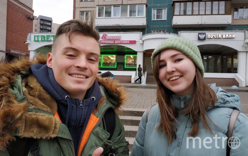 """Никита (24 года) и Евгения (20 лет), тату-мастера. Фото Наталья Сидоровская, """"Metro"""""""