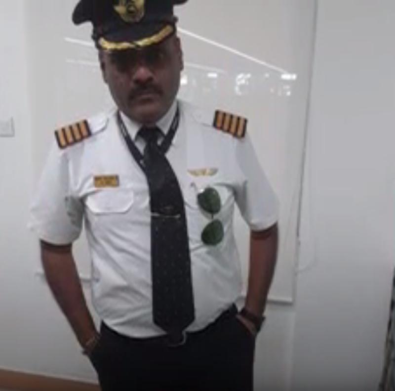 В Индии арестовали мужчину, притворявшегося пилотом ради получения мест в бизнес-классе. Фото Скриншот https://www.youtube.com/watch?v=UGBRmlAqArU, Скриншот Youtube