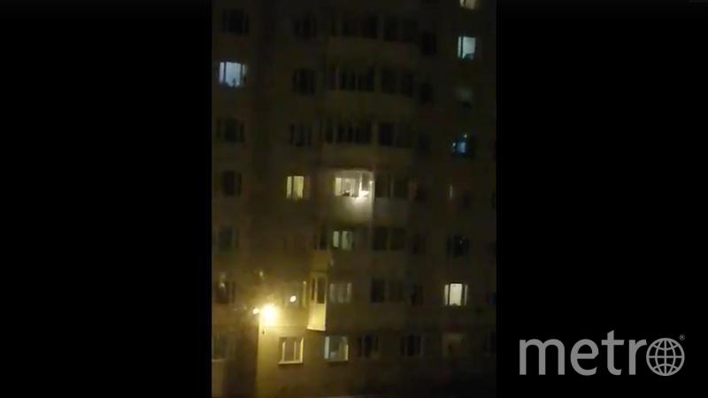 """Стрельба велась с балкона дома. Фото https://vk.com/wall-33486_473443, """"Metro"""""""
