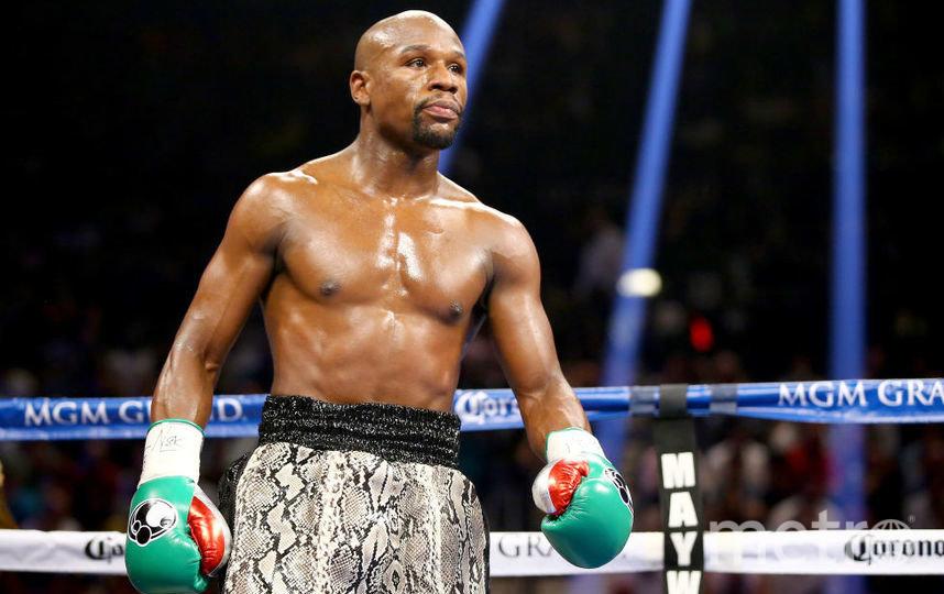 Американский боксёр Флойд Мейвезер. Фото Getty
