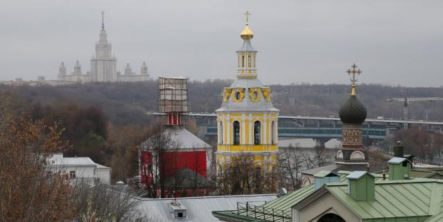 В Андреевском монастыре сегодня находится Синодальный информационный отдел РПЦ.