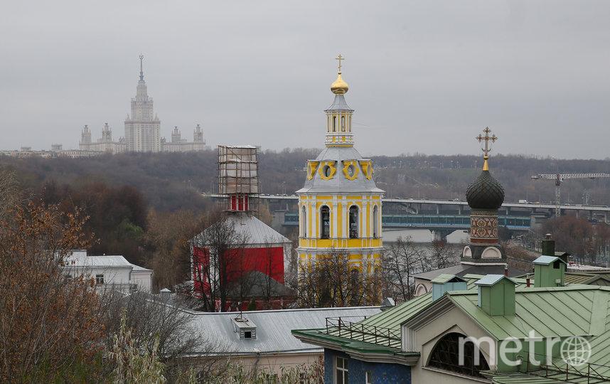 В Андреевском монастыре сегодня находится Синодальный информационный отдел РПЦ. Фото Василий Кузьмичёнок