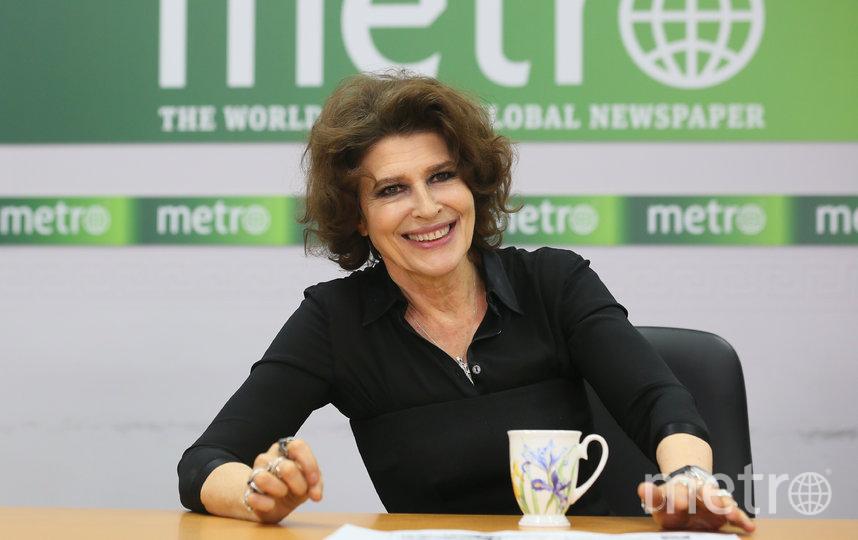 Фанни Ардан в редакции Metro-Москва. Фото Василий Кузьмичёнок