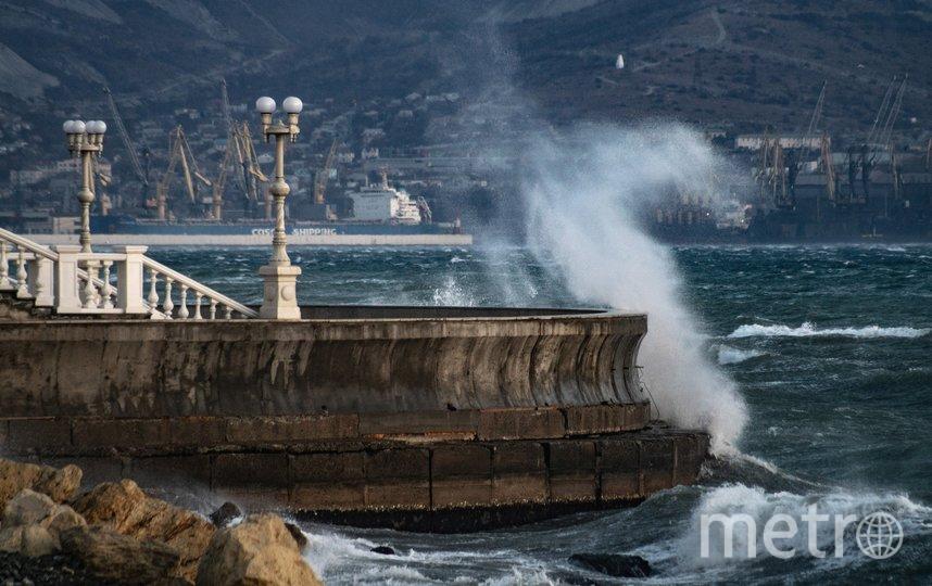 Новороссийск и ураган. Фото Tateshi Yokotaishi/vk.com/sakanoid