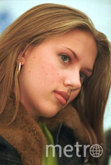 Скарлетт Йоханссон в юности. Фото Getty