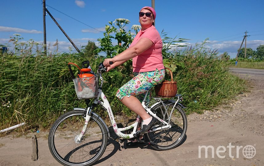 """Мне 57 лет, очень люблю еэдить на велосипеде. Фото """"Metro"""""""