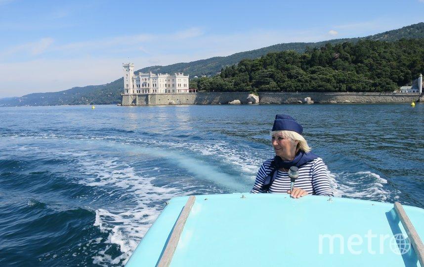 """Я тебе не бабушка, я - капитан. В 61 год я управляю катером в Адриатическом море. Фото Касаткина Алла, """"Metro"""""""