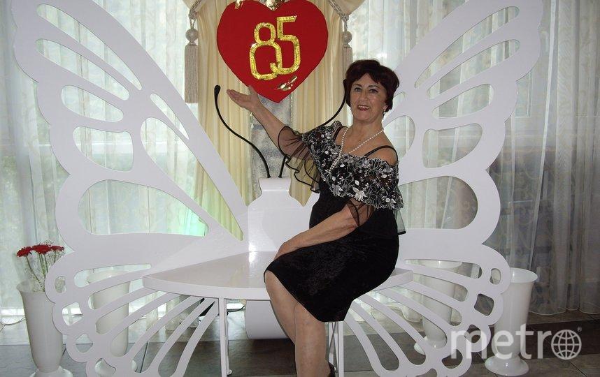 """Я коренная Петербурженка, в этом году отметила 85 лет. Фото Маргарита Каменская, """"Metro"""""""