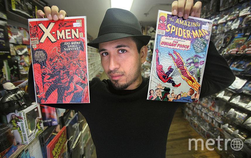 Комиксы Marvel. Фото Getty