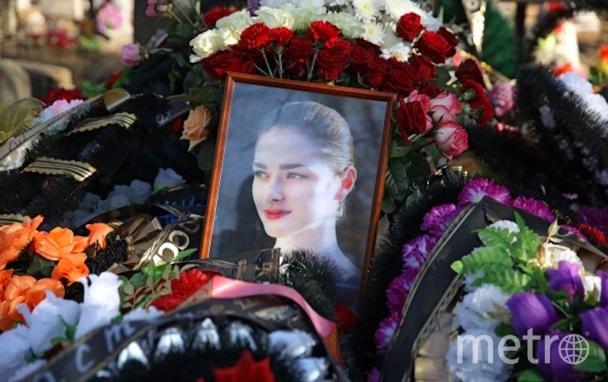 Похороны Анастасии Ещенко. Фото РИА Новости