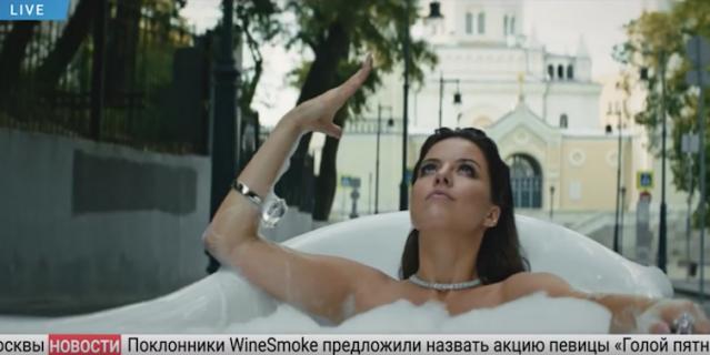 Клип Натальи Винокуровой.